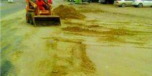 أم القيوين | حملة لإزالة الرمال المتراكمة