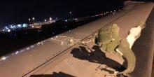 سنغافورة | طائرة لطيران الإمارات تتعرض لأضرار طفيفة