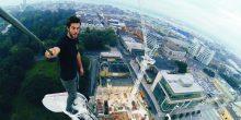 شرطة دبي تستدعي مغامر أوروبي يتسلق البنايات