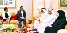 محمد بن راشد يبحث العلاقات الثنائية مع رئيس سيشل
