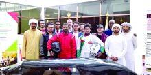 جامعة أبوظبي | طلاب مواطنون يدشنون سيارة ذات كفاءة عالية في ترشيد الوقود
