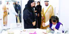 الشارقة | سلطان القاسمي يفتتح مركز الفن للجميع