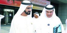 محمد بن راشد يشيد بمعرض دبي الدولي للخيل