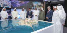 محمد بن راشد يطلق مشروع جزيرة متكاملة على شاطىء جميرا