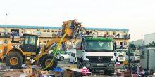 بلدية دبي تضبط 16 بائعًا مخالفًا في حملة على الأسواق العشوائية